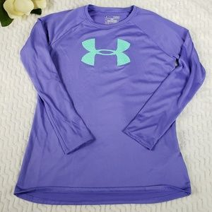 Under Armour Long Sleeve Athletic Top Youth Size L